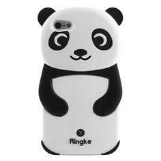 iPhone 6/6S/5/5s Panda Bear Soft Case