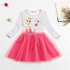 Dress Anna Elsa Disfraz Princess Sofia dress infantil fever elza costume vestido rapunzel jurk disfraces clothing