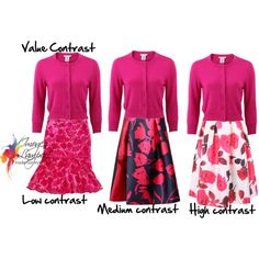 value contrast explained by imogenl on Polyvore featuring Oscar de la Renta, NOIR Sachin + Babi, WithChic and Chanel