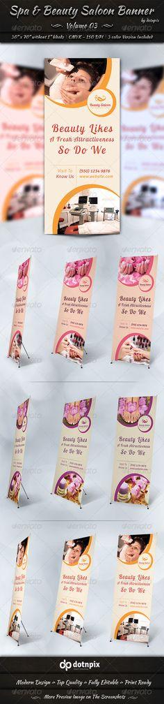Spa & Beauty Saloon Banner | Volume 3