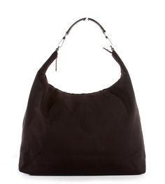 Gucci Dark Brown Classic Canvas XL Travel Hobo Bag Review Buy Now
