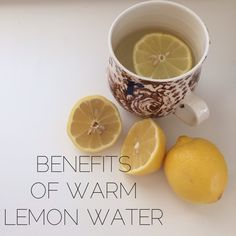 The benefits of warm lemon water first thing in the morning. Such an easy thing to do to live a healthier life in 2014.