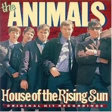 """The House Of The Rising Sun, The Animals  """"The House of the Rising Sun"""" is a traditional folk song, also sometimes called """"Rising Sun Blues"""", which tells of a life gone wrong in New Orleans. The most successful commercial version was recorded b"""