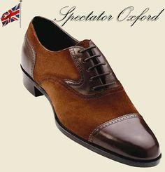 Oxford Spectators mens shoes handmade bespoke adler