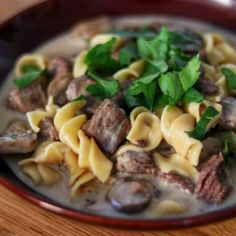 An electric pressure cooker (such as Instant Pot(R)) makes it easy to get fork-tender beef in this stroganoff recipe served with egg noodles. - Read the comments for other changes to the recipe. Instant Pot Pressure Cooker, Pressure Cooker Recipes, Slow Cooker, Instant Cooker, Pressure Cooking, Beef Recipes, Cooking Recipes, Healthy Recipes, Family Recipes