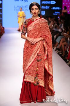 Gaurang Shah Lakmé Fashion Week Winter/Festive Gaurang Shah Collection, Designs, Fashion Shows, Lehengas & Sarees, Pictures and Photos on Bigindianwedding Lakme Fashion Week, India Fashion, Indian Attire, Indian Wear, Indian Formal Wear, Indian Style, Indian Dresses, Indian Outfits, Indian Clothes