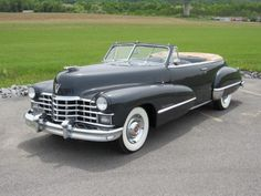1947 Cadillac 62 Series Convertible #1949cadillacconvertibleclassiccars