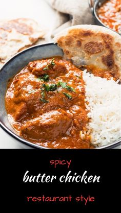 This butter chicken is loaded with big flavours and spice. For keto version leav… This butter chicken is loaded with big flavours and spice. For keto version leave out sugar Curry Recipes, Beef Recipes, Chicken Recipes, Cooking Recipes, Keto Chicken, Indian Food Recipes, Asian Recipes, Indian Foods, Indian Snacks