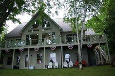 Amazing Northern Michigan Homes: Classic Walloon Lake Cottage