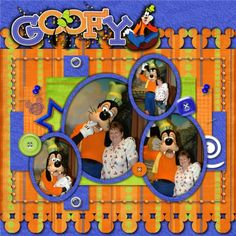 Goofy.....like the way the Mickey heads are