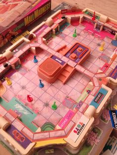 Mall Madness.... so old. Haha. I so had this game - played it all the time with my siblings.  @Erika * Stephens you remember this!!?!!???