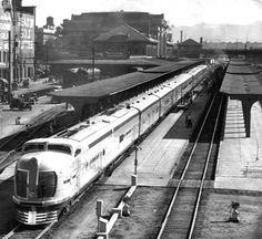 City of Denver at Union Station. June 19, 1936. Denver Post File Photo