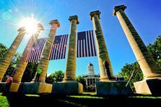 University of Missouri remembering 9/11. Never forget.