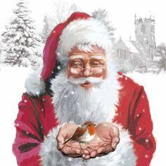 Victor Mclindon - Santa And Robin Copy