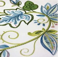 A New Leaf Embroider