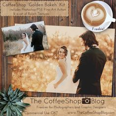"The CoffeeShop Blog: CoffeeShop ""Golden Bokeh"" Fine Art Photoshop/PSE Action & Texture Kit!"