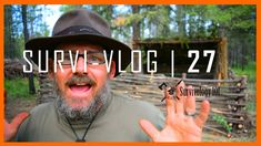 I take a quick look over my (in Progress) Bushcraft camp and some of the improvements. I show a nice new piece of custom leather kit and talk about the strug.