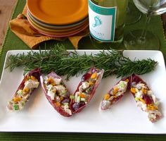 Chicken Salad in Endive Boats from @Milisa- Miss in the Kitchen