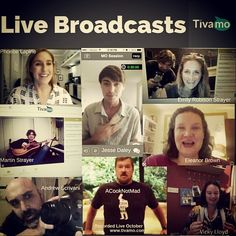 We've had some amazing #live broadcasts from seriously #kickass hosts! Thanks for the support everybody:)