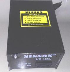 Jual beli POWER STARTING or INVERATOR 220V MAX1500w di Lapak Mbish Bangun Indonesia - mbish_elektronik. Menjual Lain-lain - POWER STARTING / INVERATOR 220V MAX1500w [ box besi ] Berfungsi sebagai penahan arus yang melonjak saat penarikan pertama kali (inverator / power starting) dan penstabil tegangan listrik (stabilizer). dapat digunakan untuk peralatan rumah tangga yang tidak melebihi dari 1500W-220V, seperti TV, kulkas, mixer, blender, bor listrik, pompa air, dll > Biasa M...