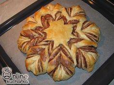 Pletený koláč s Nutellou