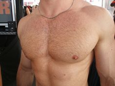 Up until the mid it was illegal to publicly flaunt the male nipple in public. Men were forced to wear nipple-covering swimsuits prior to when Male Chest, Hairy Chest, Perfect Posture, Beefy Men, Hot Hunks, Shirtless Men, Hairy Men, Gorgeous Men, Muscles