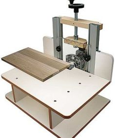 MLCS Woodworking FLATBED Horizontal Router Table w/ Vertical Panel Bit Set