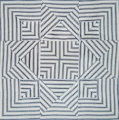 this block is made with real cotton ticking--Civil War Quilts: Threads of Memory 1: Portsmouth Star for Ona Judge Staines