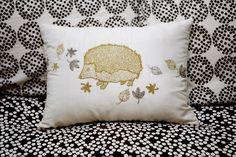 Hedgehog pillow | dooce®