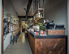 26 ideas for retail lighting design ceilings coffee shop Interior Designers Sydney, Restaurant Interior Design, Coffee Shop Design, Cafe Design, Deco Cafe, Deco Restaurant, Cafe Concept, Bar A Vin, Cafe Bar