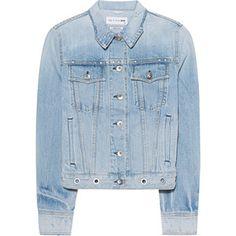 RAG&BONE Jean Jacket Avenida Eylt // Denim jacket with studs