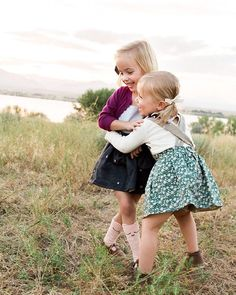 Outfits by Blythe and Reese Handmade. // Bows by Free Babes Handmade.