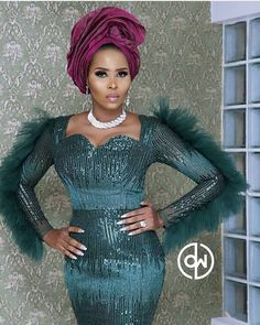 Wanna Be a Trendsetter Checkout These Eye-popping Aso-Ebi Styles – EsB TV Nigerian Lace Styles, African Lace Styles, African Lace Dresses, Latest African Fashion Dresses, African Print Fashion, African Clothes, Lace Dress Styles, Aso Ebi Styles, Ankara Styles