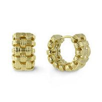 18k Hoop Earrings from Borsheims