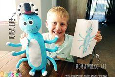 Budsies: We Turn Artwork Into Custom Stuffed Animal Gift