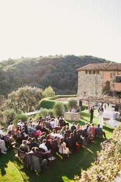 wedding in tuscanny, yes please.