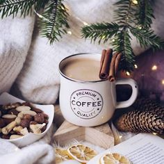 christmas mood winter weihnachten 20 Rules of Winter Hygge Living To Warm Up Your Body amp; Coffee Love, Coffee Break, Hot Coffee, Drink Coffee, Banana Coffee, Coffee Plant, Coffee Menu, Coffee Girl, Coffee Signs