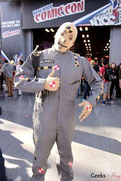 Crash Test Dummy - New York Comic Con 2014