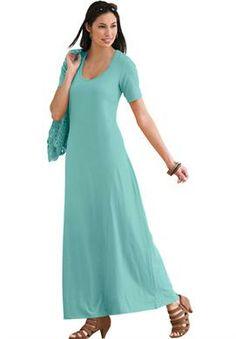 Petite Flared Maxi Dress   Plus Size Dresses & Suits   Jessica London