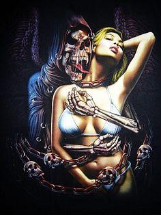 Grim Reaper by Rock Chang Grim Reaper Art, Don't Fear The Reaper, Dark Fantasy, Fantasy Art, Banners, Reaper Tattoo, Wolf, My Demons, Angel Of Death