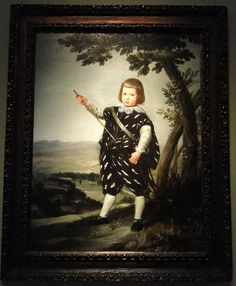 Museum of Fine Arts, Budapest |Alonso Cano (1601-67) - Portrait of Infante Don Baltasar Carlos, c1634