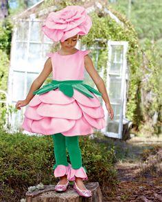 rose girls costume