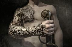 Viking Tattoos By Peter Walrus Madsen