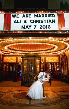 Keith-Albee Theatre Wedding, Huntington, West Virginia