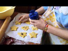 Biscotti di pasta frolla per NATALE - YouTube