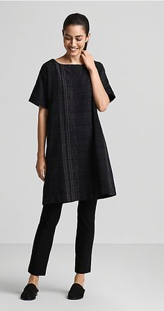 Free standard shipping on all Continental US orders. Shop women's casual clothing that effortlessly combines timeless, elegant lines with eco-friendly fabrics from EILEEN FISHER. Classy Outfits, Beautiful Outfits, Cool Outfits, Casual Outfits, Dress Over Pants, Leggings Are Not Pants, Clothes 2019, Ethical Clothing, Casual Elegance