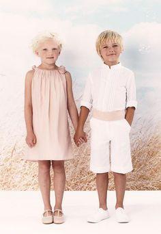 Mode cortège Cyrillus : Tenues de cérémonie Cyrillus 2013 - mode enfant spécial cortège: robes et costumes enfant