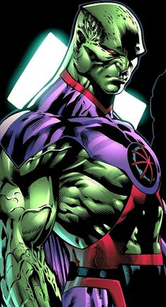 Martian Manhunter:   I miss the old DC...but this is decent.