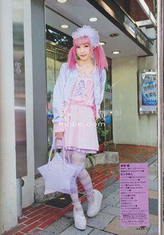 Harajuku Fashion, Japan Fashion, Kawaii Fashion, Lolita Fashion, Pastel Fashion, Pop Fashion, Autumn Fashion, Alternative Outfits, Alternative Fashion