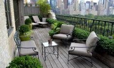 16 Modern Balcony Garden Ideas To Get Inspired From - Home Design Modern Balcony, Small Balcony Design, Small Balcony Garden, Front Yard Design, Balcony Plants, Outdoor Balcony, Rooftop Garden, Outdoor Decor, Balcony Ideas